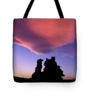 A Mono Lake Sunset Tote Bag