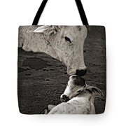 A Mother's Love Monochrome Tote Bag