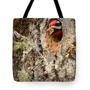 A Mouthful..excavation Tote Bag