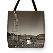 A Moving Memory Monochrome Tote Bag