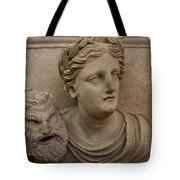 A Nabatean Bust Of A Woman Holdig Tote Bag