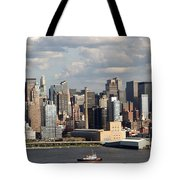 A New York City Afternoon Tote Bag