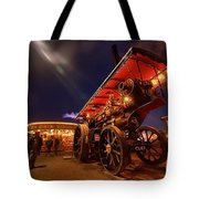 A Night Of Steam  Tote Bag