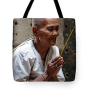 A Nuns Devotions Tote Bag