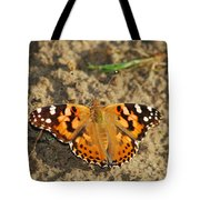 A Painted Lady Looking For Sex 8619 3369 Tote Bag