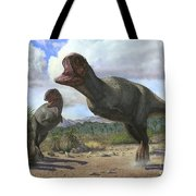 A Pair Of Pycnonemosaurus Nevesi Tote Bag