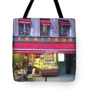 A Paris Bistro Tote Bag