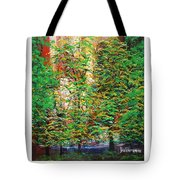 A Peaceful Place Poster Tote Bag