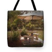 A Peaceful Spot Tote Bag