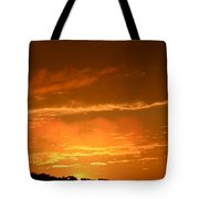 A Peeking Sunrise Tote Bag