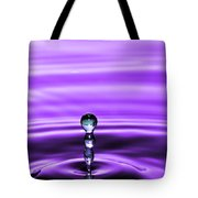 A Perfect Rise Of Water Tote Bag