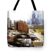 A Philadelphian View Two Tote Bag