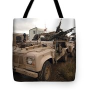 A Pink Panther Land Rover Tote Bag