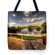 A Pint With A View  Tote Bag