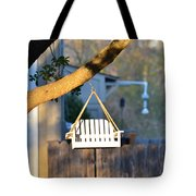 A Place To Perch Tote Bag