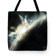 A Planet Pushed Out Of Its Orbit Tote Bag by Tomasz Dabrowski