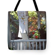 A Porch To Reflect Tote Bag