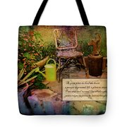 A Prayer Expressed Tote Bag