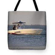 A Proper Fishing Boat Tote Bag