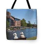 A Quaint English Scene Tote Bag