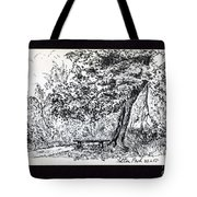 A Quiet Corner 1958 Tote Bag