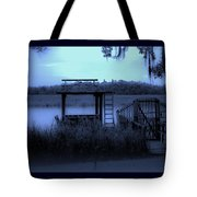 A Quiet Place By The Marsh Tote Bag