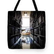 A Quiet Place To Work Tote Bag