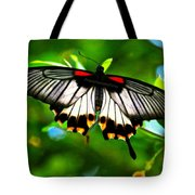 A Real Beauty Butterfly Tote Bag