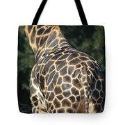A Rear View Of A Rothschild Giraffe Tote Bag