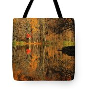 A Reflection Of October Tote Bag