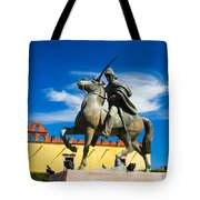 A Ride In The Clouds Tote Bag