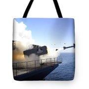 A Rim-7 Sea Sparrow Missile Launches Tote Bag