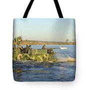 A Riverine Squadron Maneuvers Tote Bag