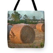 A Roll In The Hay Tote Bag