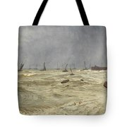 A Rough Day At Leigh Tote Bag