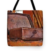 A Rusy Toolbox Tote Bag