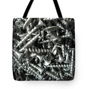 A Screwy Photograph Tote Bag