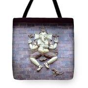 A Sculpture Of The Hindu God Ganesha Tote Bag