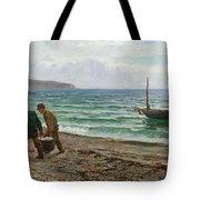 A Sea View Tote Bag by Colin Hunter