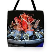 A Seafood Orgy Tote Bag