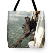 A Search And Rescue Swimmer Student Tote Bag