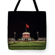 A Serene Ho Chi Minh Mausoleum Tote Bag