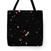 A Shot Of A Deep Space Photograph Tote Bag