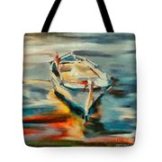A Single Boat Tote Bag