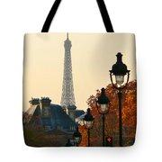 A Slice Of Paris Tote Bag
