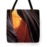 A Slot Canyon View Tote Bag