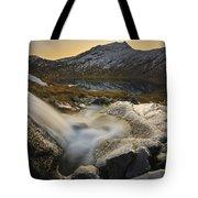A Small Creek Running Tote Bag