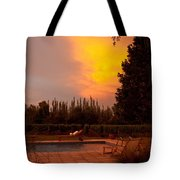A Small Vineyard And Fine Hotel Tote Bag
