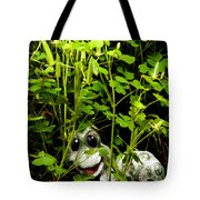 A Smile In A Clover Forest Tote Bag