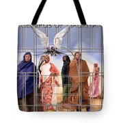 A Song For The Caged Birds Of Mauritania Tote Bag
